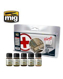 Mig, ammo-by-mig-jimenez-7448-first-aid-basic-pigments, MIG7448