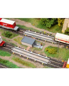 Stasjoner og jernbanebygninger (Faller), Skinnebrems, FAL120320