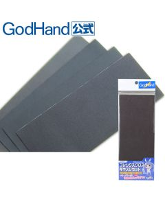 Verktøy, godhand-gh-ny4-flex-cloth-emery-sanding-sheets-k240-400-600-800-93-5-x-228-mm, GODNY4