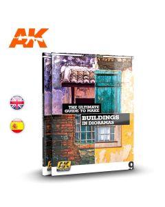 Bøker, The Ultimate Guide To make Buildings In Dioramas, Learning Series Vol. 9, AKI256