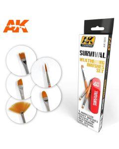 Pensler, ak-interactive-663-survival-weathering-brush-set, AKI663