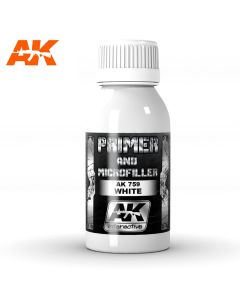 AK Interaktive, ak-interactive-ak759-white-primer-and-microfiller, AKI759