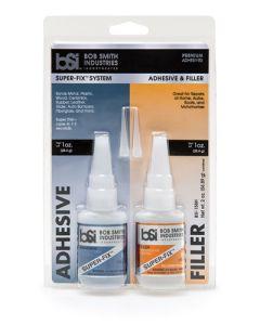 Lim og smøremidler, bob-smith-industries-bsi-158H-super-fix-system-adhesive-welding-powder-filler-2-oz, BSI158H