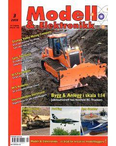 Blader, Modell & Elektronikk 3/2019, Teknisk Hobbyblad, MOE0319