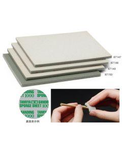 Verktøy, tamiya-87147-sanding-sponge-sheet-400, TAM87147