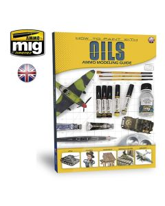 Bøker, ammo-by-mig-jimenez-mig-6043-modelling-guide-how-to-paint-with-oils-book-english, MIG6043