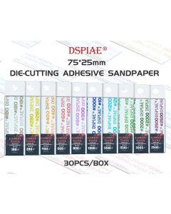 Verktøy, dspiae-wsp180-die-cutting-adhesive-sandpaper-grit-180, DSPWSP0180