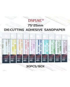 Verktøy, dspiae-wsp400-die-cutting-adhesive-sandpaper-grit-400, DSPWSP0400