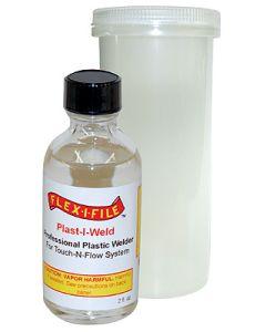 Lim og smøremidler, flex-i-file-7112-plast-i-weld, FLE7112