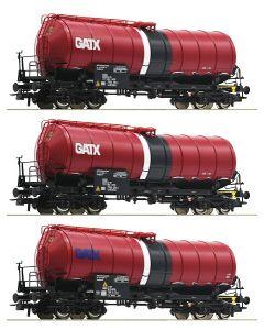 Godsvogner Internasjonale, roco-76088-gatx-zaes, ROC76088