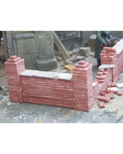 Detaljering, juweela-23391-brick-wall-with-accessories-scale-1-35, JUW23391