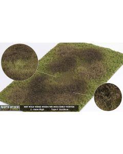 Gressmatter, Gressmatte, Wild Verge Weeds, Vinter #1, 30 x 21 Cm, MWB-M032