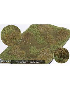 Gressmatter, Gressmatte, Rough Medow Weeds, Vinter #2, 30 x 21 Cm, MWB-M014