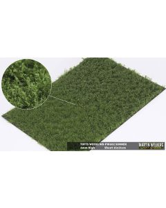Statisk Gress, Gresstuster m/ Ugress, 6 mm, Sommer, 21 x 15 Cm, MWB-PW602