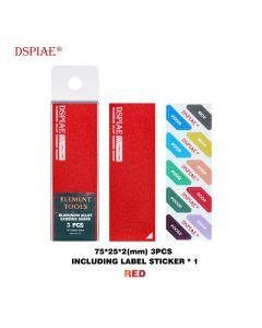 Verktøy, dspiae-as-rd-25-aluminium-alloy-sanding-board-red, DSPASRD25