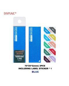 Verktøy, dspiae-as-bl-25-aluminium-alloy-sanding-board-blue, DSPASBL25