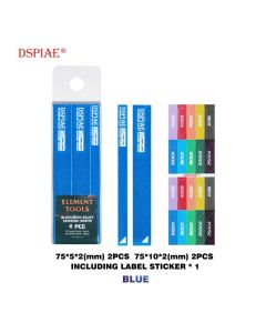 Verktøy, dspiae-as-bl-15-aluminium-alloy-sanding-board-blue, DSPASBL15