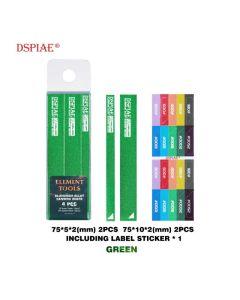 Verktøy, dspiae-as-gn-15-aluminium-alloy-sanding-board-green, DSPASGN15
