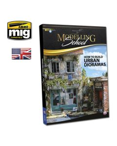 Bøker, ammo-by-mig-jimenez-mig-6215-modelling-school-how-to-build-urban-dioramas-book-english, MIG6215