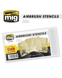 Mig, Airbrush Stencils, Texture Templates, MIG8035