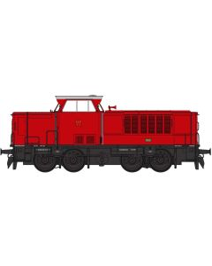 Lokomotiver Danske, heljan-21521-hp-hjorring-privatbane-mak-13-dcc, HEL21521