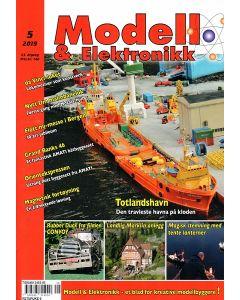 Blader, Modell & Elektronikk 5/2019, Teknisk Hobbyblad, MOE0519