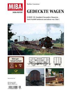 Blader, Gedeckte Wagen, Miba Report, VGB15087250