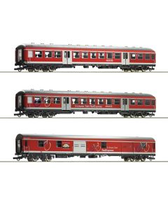 Personvogner Internasjonale, roco-74099-db-fahrrad-express-3-lowen-takt, ROC74099