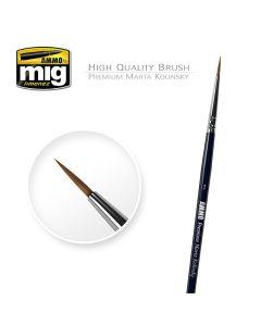Pensler, ammo-by-mig-jimenez-mig-8602-premium-martha-kolinsky-round-brush-1.html, MIG8602