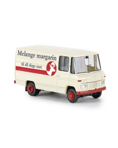 Varebiler, brekina-36846-mb-mercedes-benz-l406d-melange-margarin, BRE36846