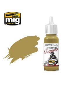 Mig Akrylmaling, ammo-by-mig-jimenez-f-505-pale-yellow-green-fs-33481-acrylic-figure-miniature-paint-17-ml, MIGF505