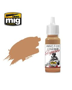 Mig Akrylmaling, ammo-by-mig-jimenez-f-510-uniform-sand-yellow-fs-32555-acrylic-figure-miniature-paint-17-ml, MIGF510