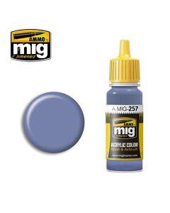 Mig Akrylmaling, Azure Blue, Acrylic Paint (17 ml), MIG0257