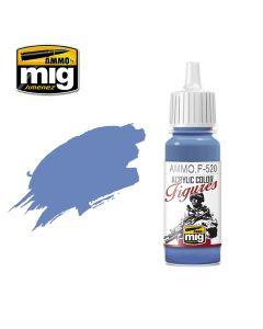 Mig Akrylmaling, ammo-by-mig-jimenez-f-520-deep-cobalt-blue-acrylic-figure-miniature-paint-17-ml, MIGF520