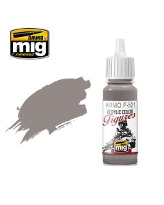 Mig Akrylmaling, ammo-by-mig-jimenez-f-521-grey-light-brown-acrylic-figure-miniature-paint-17-ml, MIGF521