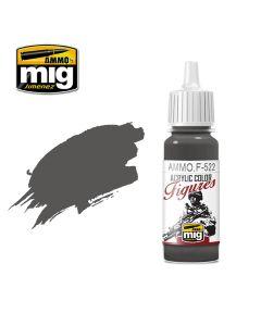 Mig Akrylmaling, ammo-by-mig-jimenez-f-522-slate-grey-acrylic-figure-miniature-paint-17-ml, MIGF522