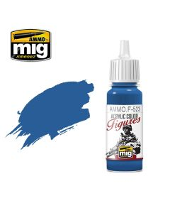 Mig Akrylmaling, ammo-by-mig-jimenez-f-523-uniform-blue-acrylic-figure-miniature-paint-17-ml, MIGF523