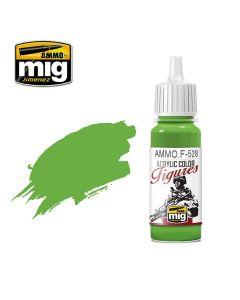 Mig Akrylmaling, ammo-by-mig-jimenez-f-528-pure-green-acrylic-figure-miniature-paint-17-ml, MIGF528