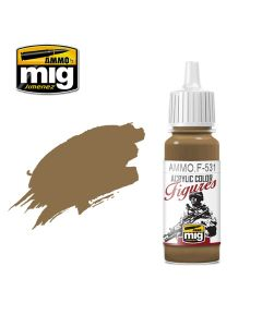 Mig Akrylmaling, ammo-by-mig-jimenez-f-531-light-brown-acrylic-figure-miniature-paint-17-ml, MIGF531