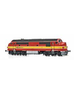 Lokomotiver Danske, dekas-dk-8750053-osjs-ostbanen-kong-hother-mx-41-ac, DK-8750053