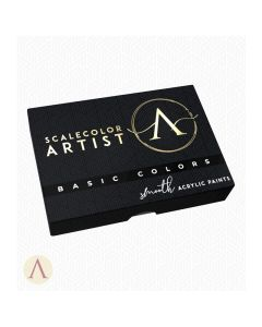 Scale75, scale75-ssar01-basic-colors-scalecolor-artist-paint-set, SSAR-01