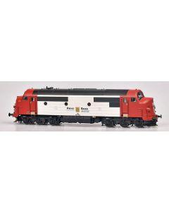 Lokomotiver Danske, dekas-dk-8750073-pbs-privatbanen-soderjylland-mx-1030-ac, DK-8750073