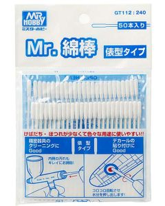 Verktøy, mr-hobby-gt-112-mr-cotton-swab-straight-stick-type, MRHGT-112