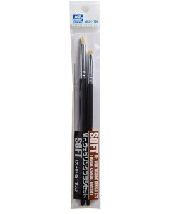 Pensler, mr-hobby-mb-31-mr-weathering-brush-set-soft, MRHMB-031