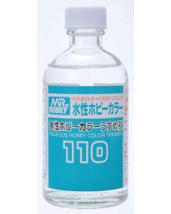 Mr. Hobby, mr-hobby-t-110-mr-aqueous-hobbby-color-thinner-110-ml, MRHT-110