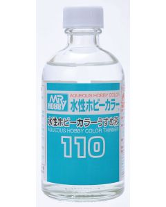 Mr. Hobby, mr-hobby-t-110-mr-aqueous-hobbby-color-thinner-110-ml, MRHT-110