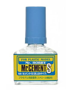 Lim og smøremidler, mr-hobby-mc-129-mr-cement-s-40-ml, MRHMC-129