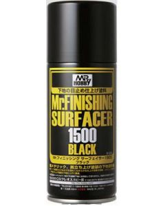 Mr. Hobby, mr-hobby-b-526-mr-finishing-surfacer-1500-black-170-ml, MRHB526