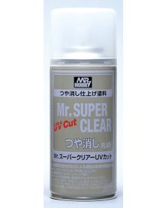 Mr. Hobby, mr-hobby-b-523-mr-super-clear-uv-cut-flat-170-ml, MRHB523