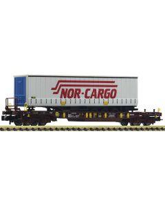 Godsvogner Norske, fleischmann-825052-aae-t3-nor-cargo, FLM825052